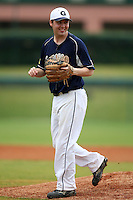 March 21, 2010:  Third Baseman Ross Graham (15) of the Genesee Community College Cougars during a game at Holman Stadium at Dodgertown in Vero Beach, FL.  Photo By Mike Janes/Four Seam Images