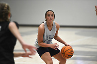 Greenwood's Brooklyn Woolsey (35) shoots, Thursday, June 10, 2021 during a basketball game at Rogers High School in Rogers. Check out nwaonline.com/210611Daily/ for today's photo gallery. <br /> (NWA Democrat-Gazette/Charlie Kaijo)