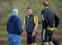 Assistant coach Jason Holland. Hurricanes rugby union training at Rugby League Park in Wellington, New Zealand on Wednesday, 19 April 2017. Photo: Dave Lintott / lintottphoto.co.nz