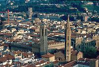 - Florence, town panorama ....- Firenze, panorama della città..