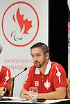 Martin Richard, Toronto 2015.<br /> Highlights from Canada's Opening Ceremonies flag bearer annoucement // Faits saillants de l'annonce du porte-drapeau des cérémonies d'ouverture du Canada. 05/08/2015.