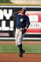 Beloit Snappers Reggie Williams #18 during a game against the Great Lakes Loons at Dow Stadium on July 22, 2011 in Midland, Michigan.  Great Lakes defeated Beloit 5-2.  (Mike Janes/Four Seam Images)