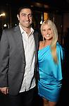 Ome Yabden and Amanda Delaney at day three of  Fashion Houston 5 at the Wortham Theater Thursday Nov. 20, 2014.(Dave Rossman photo)