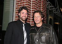 Artie Colombino and Costas Mandylor at the Gala Awards Ceremony of the 2008 Hoboken International Film Festival which concluded  with Billy Dee Williams being presented the Lifetime Achievement Award and then nominees and winners were announced on June 5, 2008 at Pier A Park, Hoboken, New Jersey.  (Photo by Sue Coflin/Max Photos)