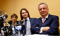 20150330 ROMA-CRONACA: SOLLECITO INCONTRA LA STAMPA DOPO L'ASSOLUZIONE