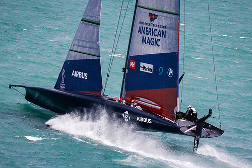 For American Magic, getting the boat around the course safely had allowed them to build confidence in both their boat and their ability to bounce back.