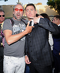 Peter Stormare and Channing Tatum attends The Columbia Pictures' 22 JUMP STREET Premiere held at The Regency Village Theatre in Westwood, California on June 10,2014                                                                               © 2014 Hollywood Press Agency