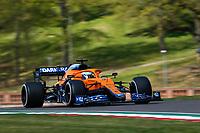 16th April 2021; Autodromo Enzo and Dino Ferrari, Imola, Italy; F1 Grand Prix of Emilia Romagna, Free Practise sessions;  Daniel Ricciardo AUS, McLaren F1 Team