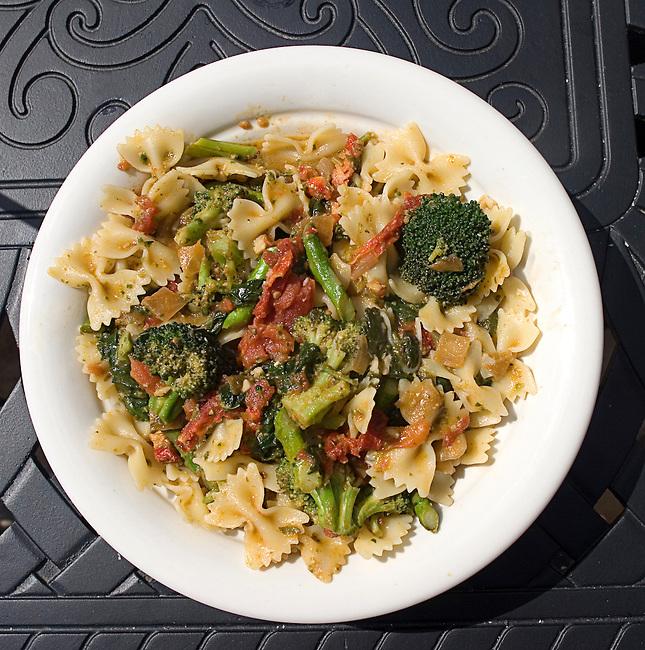 Farfole & Vegetables, Maggionano's Little Italy, Pointe Orlando Mall,  Orlando, Florida