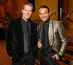 Brandon Buerger and Todd Ramos at the Una Notte in Italia party at the Intercontinental Houston Hotel Saturday Nov. 07,2009. (Dave Rossman/For the Chronicle)