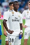 Real Madrid Vinicius Jr. during Santiago Bernabeu Trophy match at Santiago Bernabeu Stadium in Madrid, Spain. August 11, 2018. (ALTERPHOTOS/Borja B.Hojas)