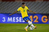 17th November 2020; Centenario Stadium, Montevideo, Uruguay; Fifa World Cup 2022 Qualifying football; Uruguay versus Brazil;  Everton of Brazil