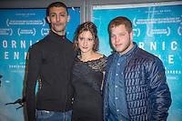 Kamel Kadri, Lola Creton, Alain Demaria ‡ L'avant premiËre du film Corniche Kennedy Au MK2 BibliothËque ‡ Paris le 17 janvier 2017