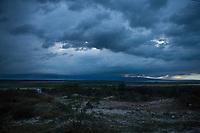 Haiti, Gros-Morne. Clouds.