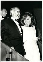 Normand Jewison, Jane Fonda au Festival des Films du Monde 1985<br /> <br /> <br /> PHOTO : Agence Quebec Presse