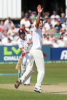 Saj Mahmood of Essex appeals for the wicket of Tim Bresnan - Essex CCC vs England - LV Challenge Match at the Essex County Ground, Chelmsford - 30/06/13 - MANDATORY CREDIT: Gavin Ellis/TGSPHOTO - Self billing applies where appropriate - 0845 094 6026 - contact@tgsphoto.co.uk - NO UNPAID USE