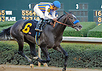 The Factor, ridden by Martin Garcia and trainer by Bob Baffert, win the Rebel Stakes at Oaklawn Park, in Hot Springs, Arkansas on March 19, 2011