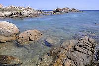 - Sardegna, isola dell' Asinara, le rocce di Punta Sabina<br /> <br /> - Sardinia, Asinara island, rocks of Point Sabina