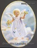 CHILDREN, KINDER, NIÑOS, paintings+++++,USLGSK0184,#K#, EVERYDAY ,Sandra Kock, victorian ,angels