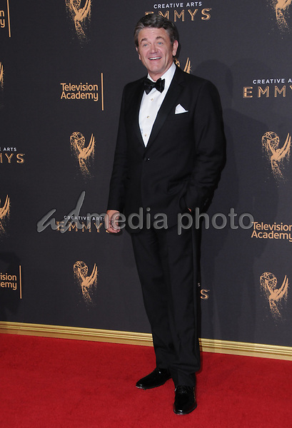 10 September  2017 - Los Angeles, California - John Michael Higgins. 2017 Creative Arts Emmys - Arrivals held at Microsoft Theatre L.A. Live in Los Angeles. Photo Credit: Birdie Thompson/AdMedia
