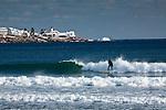 Winter surfing in York, ME