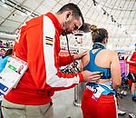 Carla Shibley - Lima 2019. Para Cycling // Paracyclisme.<br /> Carla Shibley before a race // Carla Shibley avant la compétition. 26/08/2019.