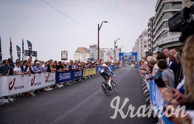 Hugo Houle (CAN/Astana - Premier Tech)<br /> <br /> Men Elite Individual Time Trial <br /> from Knokke-Heist to Bruges (43.3 km)<br /> <br /> UCI Road World Championships - Flanders Belgium 2021<br /> <br /> ©kramon