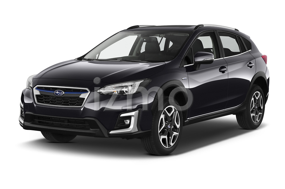 2020 Subaru XV-boxer Premium 5 Door SUV Angular Front automotive stock photos of front three quarter view