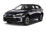 2020 Subaru XV-boxer Premium 5 Door SUV Angular Front automotive stock photos of front three quarter view
