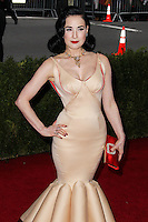 "NEW YORK CITY, NY, USA - MAY 05: Dita Von Teese at the ""Charles James: Beyond Fashion"" Costume Institute Gala held at the Metropolitan Museum of Art on May 5, 2014 in New York City, New York, United States. (Photo by Xavier Collin/Celebrity Monitor)"