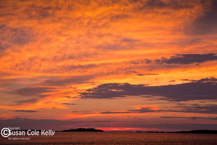Sunrise on Revere Beach, Revere, MA, USA