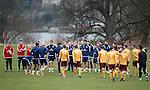 Scotland with Motherwell u20s