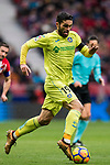 Jorge Molina Vidal of Getafe CF in action during the La Liga 2017-18 match between Atletico de Madrid and Getafe CF at Wanda Metropolitano on January 06 2018 in Madrid, Spain. Photo by Diego Gonzalez / Power Sport Images