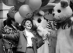 Nancy Reagan with Easter bunnies on South Lawn of White House Washington DC, Fine Art Photography by Ron Bennett, Fine Art, Fine Art photography, Art Photography, Copyright RonBennettPhotography.com ©
