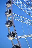 Ferris wheel at Hyde Park, London, 2009.