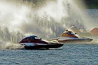 "S-17, Doug Martin,S-33 ""Keen's Sunday Money"" andAl Thompson, S-1 ""Tenacity"".  (2.5 Litre Stock hydroplane(s)"