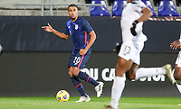 WIENER NEUSTADT, AUSTRIA - NOVEMBER 16: Reggie Cannon #20 of the United States turns and moves with the ball during a game between Panama and USMNT at Stadion Wiener Neustadt on November 16, 2020 in Wiener Neustadt, Austria.