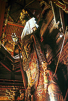 Chinese Buddhist Art:  Hall of Kuan-Yin (or) Guanyin at the Dule Monestary, near Beijing. Liao Dynasty, 984 A.D.