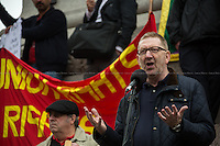 Len McCluskey (General Secretary of Unite). <br />
