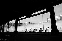 United Healthcare team (USA) on course<br /> <br /> Elite Men's Team Time Trial<br /> UCI Road World Championships Richmond 2015 / USA