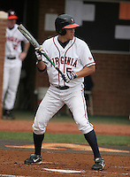 Mike Mitchell of the Virginia Cavaliers vs. the Miami Hurricanes:  March 24th, 2007 at Davenport Field in Charlottesville, VA.  Photo By Mike Janes/Four Seam Images