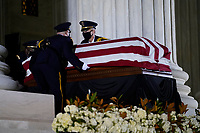 SEP 18 Associate Justice Ruth Bader Ginsburg  in Repose at the Supreme Court of the US