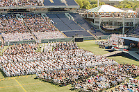 2015 US Naval Academy Graduation and Commissioning Ceremony at Navy-Marine Corps Memorial Stadium on May 22, 2015 in Annapolis, MD.