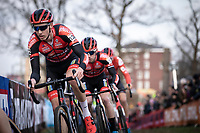 Michael Vanthourenhout (BEL/Pauwels Sauzen - Bingoal)<br /> <br /> <br /> Men Elite Race<br /> UCI Cyclocross Worldcup – Hoogerheide (Netherlands)<br /> <br /> ©kramon