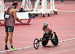 Greg Stewart and Brent Lakatos, Tokyo 2020 - Para Athletics // Para-athlétisme.<br /> Greg Stewart competes in the Men's Shot Put - F46 Final // Greg Stewart participe au lancer du poids masculin - Finale F46. 08/31/2021.