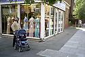 Window Shopping, Saree Shop, Hampstead Road, Camden, London