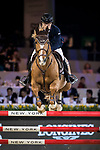 Xingjia Zhang of China riding For Passion D Ive Z competes in the Masters One DBS during the Longines Masters of Hong Kong at AsiaWorld-Expo on 11 February 2018, in Hong Kong, Hong Kong. Photo by Ian Walton / Power Sport Images