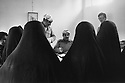Iraq 1974 <br /> The resumption of hostilities, Kurdish women being registered in Galala as refugees   <br /> Irak 1974 <br /> La reprise de la lutte armée, femmes refugiees au bureau d'enregistrement a Galala