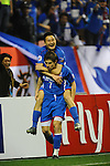 Shanghai Shenhua vs Suwon Bluewings during the 2009 AFC Champions League Group G match on April 07, 2009 at the, Hongkou Stadium, Shanghai, China. Photo by World Sport Group