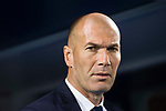 Coach Zinedine Zidane of Real Madrid prior to the La Liga match between Deportivo Leganes and Real Madrid at the Estadio Municipal Butarque on 05 April 2017 in Madrid, Spain. Photo by Diego Gonzalez Souto / Power Sport Images